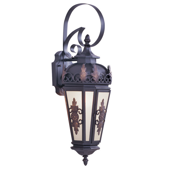 Livex Lighting 2192-07 Berkshire Outdoor Wall Lantern in Bronze